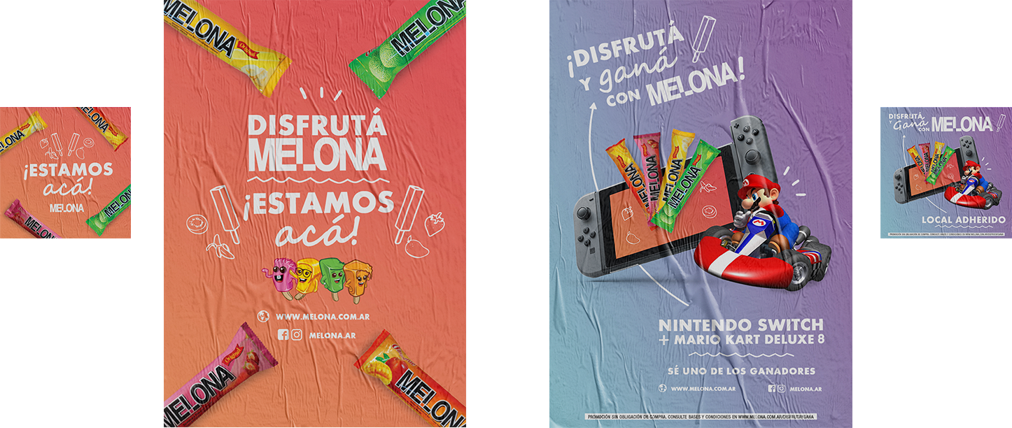 Posters Melona